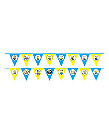 Party Propz Minion Theme Party Banner - Yellow & Blue