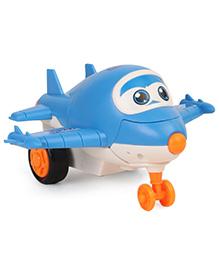 Playment Transformer Toy Plane - Blue & White