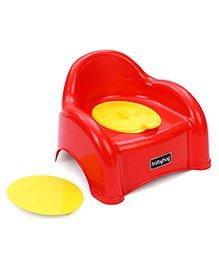 Babyhug  2 In 1 Baby Potty Seat Cum Chair - Red