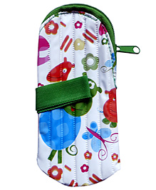 Morisons Baby Dreams Feeding Bottle Cover Green - Fits 250 Ml Bottle
