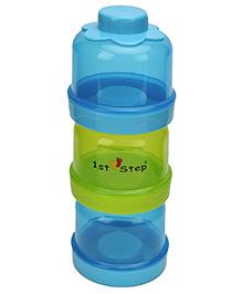 1st Step Milk Powder Container - Blue