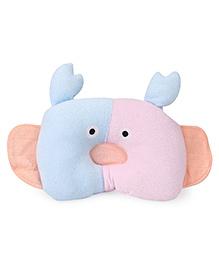 Baby Pillow Crab Shape Design - Blue & Pink