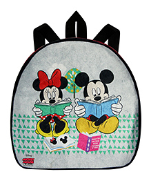 Disney Mickey Mouse & Friends School Bag Grey - Height 10 Inches