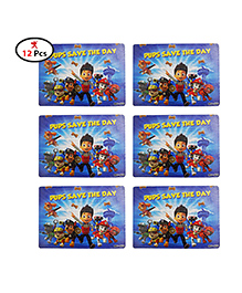 Party Propz Paw Petrol Puzzle Blue - Set Of 12