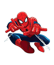 Party Propz Spiderman Themed Cut Out - Red & Blue - 2346363