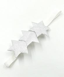 Magic Needles Headband Star Appliques - Silver