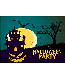 Party Propz Halloween Backdrop - Black