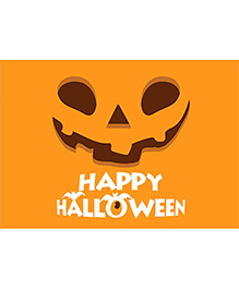 Party Propz Halloween Backdrop - Yellow
