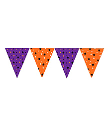 Party Propz Halloween Themed Flag Banner - Multi Colour