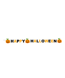 Party Propz Halloween Themed Party Banner - Yellow