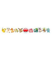 Party Propz Pokemon Theme String Banner - Multicolour