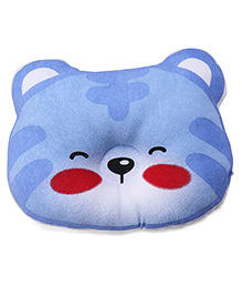 Bear Shape Baby Pillow - Blue