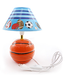 Quirky Lamp Basketball Lamp - Brown