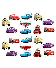Party Propz Disney Pixar Cars Themed Cut Out Decoration Set Of 20 - Multicolour