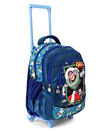 Disney Incredibles Trolley School Bag Blue - Height 17 Inches