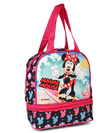 Disney Minnie Mouse Lunch Box Bag Pink - Height  9.44 Inches
