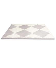 Skiphop Geo Foam Floor Tiles - Grey