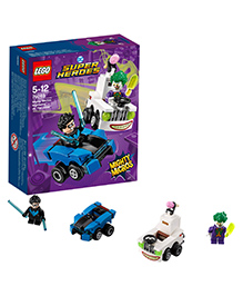 Lego Super Heroes Mighty Micros Nightwing Vs The Joker - 84 Pieces