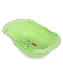 Baby Bath Tub Sweet Love Print - Green