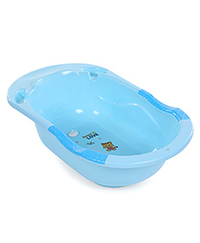 Baby Bath Tub Sweet Love Print - Blue