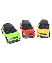 Vibgyor Vibes Die Cast Metal BMW Mini Cooper With Light & Sound Pack Of 1 (Colors May Vary)