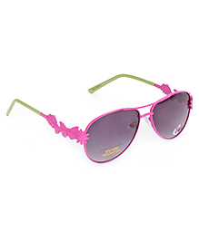 Barbie Aviator Sunglasses Butterfly Applique - Pink