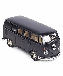 RMZ Volkswagen Samba Diecast Bus Toy - Matte Black