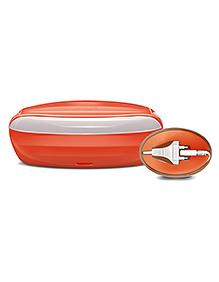 Milton Electric Tiffin Slimtron Red - 500 Ml