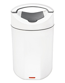 Milton Electric Megatron Lunch Box With 4 Stainless Steel Containers White - 600 Ml