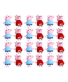 Party Propz Peppa Pig Erasers Blue Red - Pack Of 24