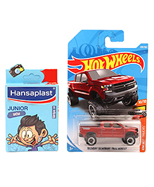Hot Wheels 19 Chevy Silverado Trail Boss Lt Toy Truck - Red
