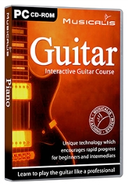 Future Books Musicalis Interactive Guitar Course - PC CD ROM