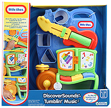 Little Tikes Discover Sound Tumblin Music - 6 To 36 Months - 12 X 23 X 34 Cm