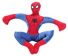 Disney Soft Toy Spiderman - Red And Blue - 10 Inches
