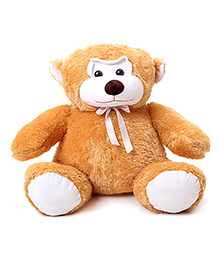 IR Jumbo Monkey Soft Toy - Yellowish Brown - 48 X 54 X 54 Cm