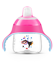 Philips Avent Premium Spout Cup 200 Ml - Pink - 6 Months+