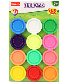 Fun Doh Fun Pack - 12 Colors