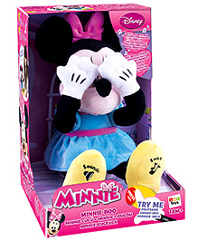IMC Minnie Boo Soft Toy