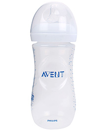 Avent Natural Plastic Baby Bottle - 330 Ml