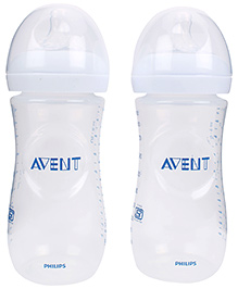 Avent Natural Baby Bottle Pack Of 2 - 330 Ml