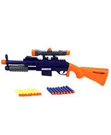 Mitashi Bang Finch Toy Gun - Blue