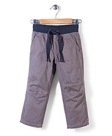 Sela Full Length Pants - Dark Beige