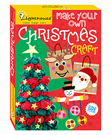 Lighthouse Make Your Own Christmas Craft New - Multicolor