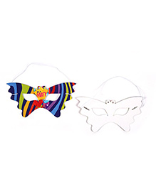 Funcart Fun & Frolic Party Theme Eye Mask - Pack Of 6