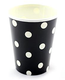 Funcart Black Polka Dot Party Beverage Cups - 9 Oz