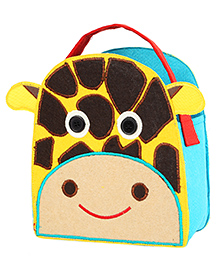 My Gift Booth Giraffe Design Candy Bag Yellow And Brown - Set Of 2