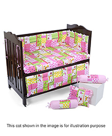 Babyhug Sleepwell Cot Bed Set - Pink
