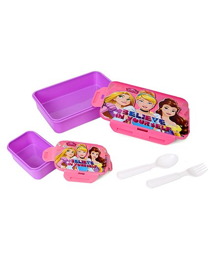 Disney Princess Lunch Box - Purple Pink
