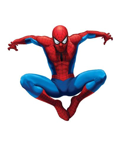 Party Propz Spiderman Themed Cut Out - Red & Blue