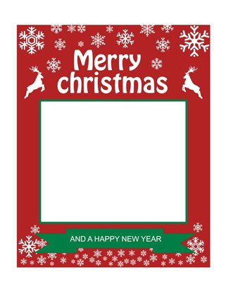 Party Propz Christmas Photo Booth Prop